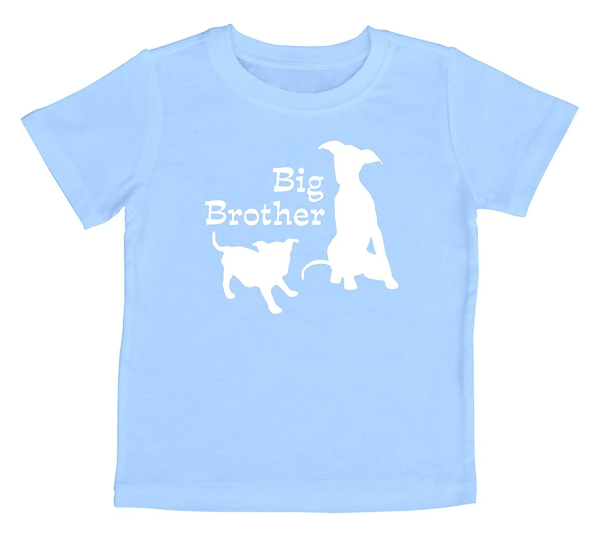 Rocket Bug Big Brother with Little Dog Toddler T-Shirt