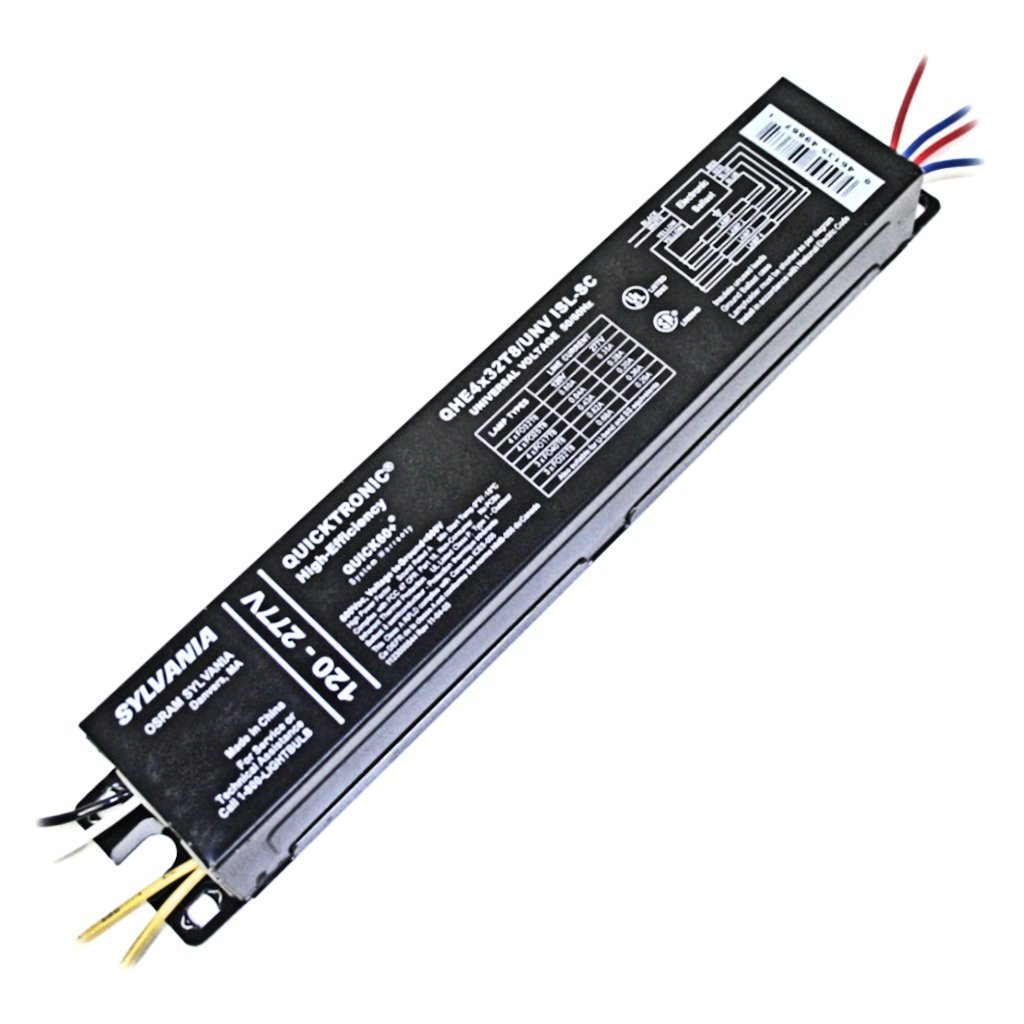 (10-Pack) Sylvania 49867 QHE 4X32T8/UNV ISL-SC T8 Fluorescent Ballast