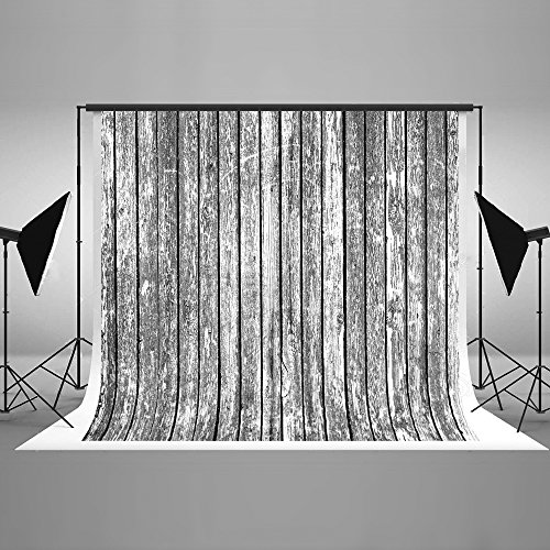 7ft(W) x5ft(H) Wood Birch Photography Backdrop Scratches Wooden Photo Background Scribble Wooden Wall Photo Studio Props for Photography Cotton Cloth Free Wrinkles