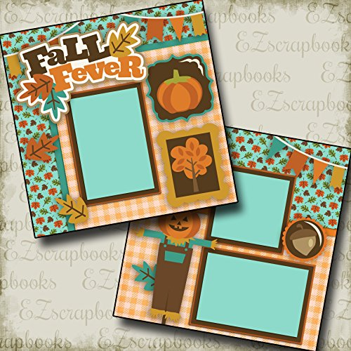 FALL FEVER - Premade Scrapbook Pages - EZ Layout 2310