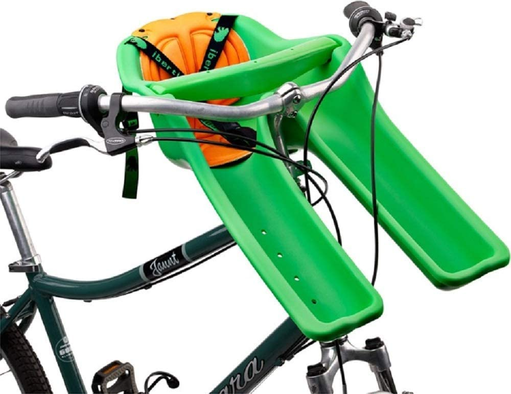Ibert Front Mount Bicycle Baby Seat NEW Steering Wheel Bike Child Carrier Pink