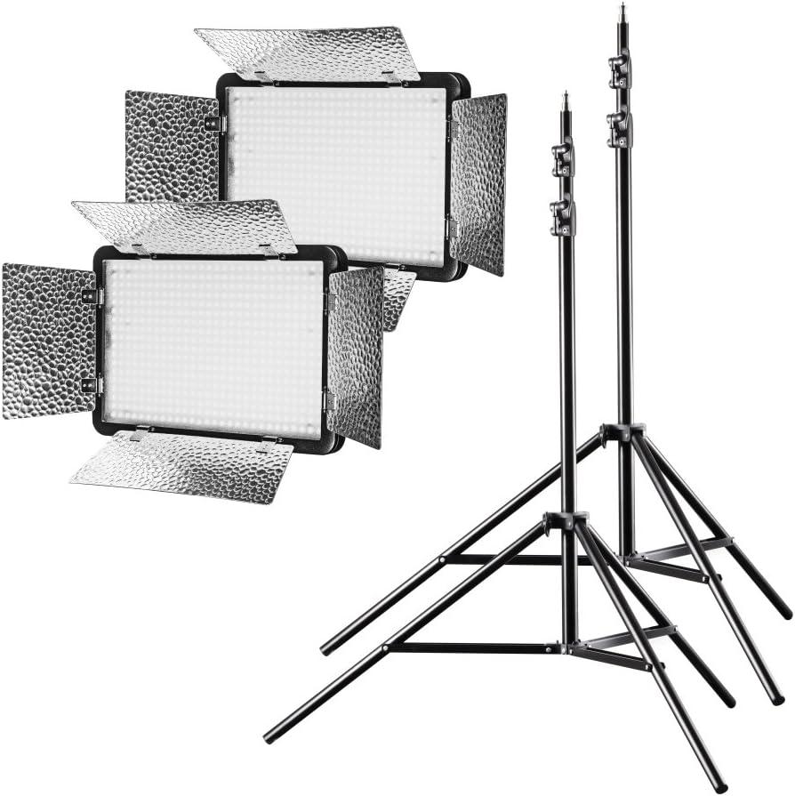 Walimex Pro Led Versalight 500 Daylight 2er Set 2x Kamera