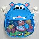 Hurley Hippo Bath Toy Organizer (Blue)