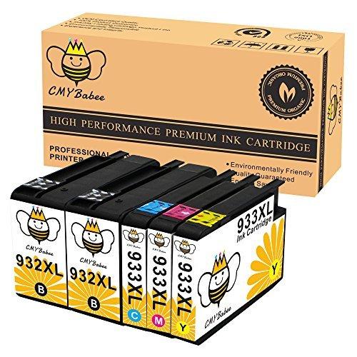 cmybabee Sustitución del cartucho de tinta compatibles para HP 932933932X L, 933X L High Yield utilizado en...