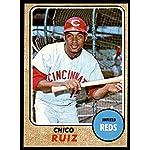 Baseball MLB 1968 Topps #213 Chico Ruiz EX/NM Reds