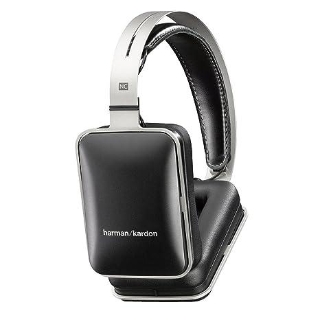 Harman Kardon NC - Auriculares supraurales con sistema de aislamiento de sonido, color negro