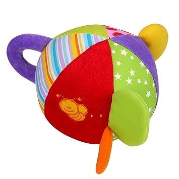 Itty-bitty Dehang Pelota de Tela Sonajero Bola de Multicolors de ...