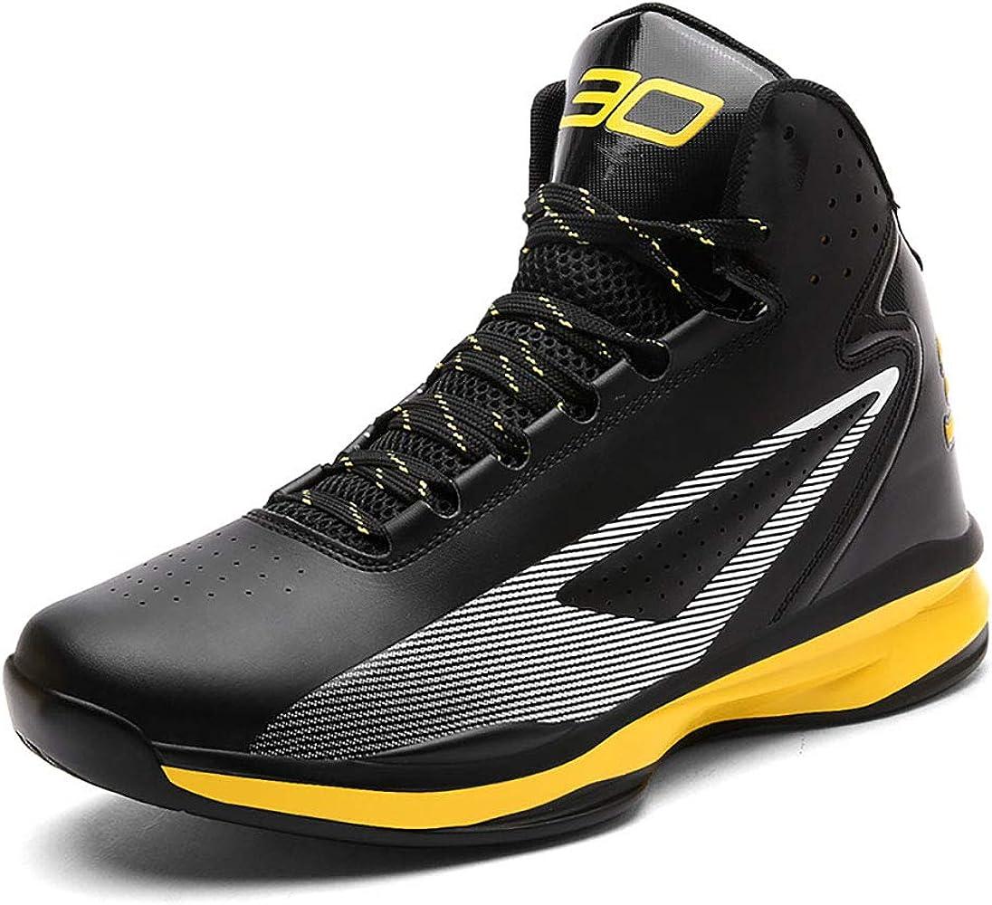 FHTD Zapatillas De Baloncesto Para Hombre Zapatillas De Deporte Hi-Top Zapatos Zapatillas De Running Zapatillas,Black,36: Amazon.es: Ropa y accesorios