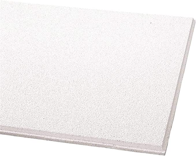 Acoustical Ceiling Tile 24X24 Thickness 5//8 PK12