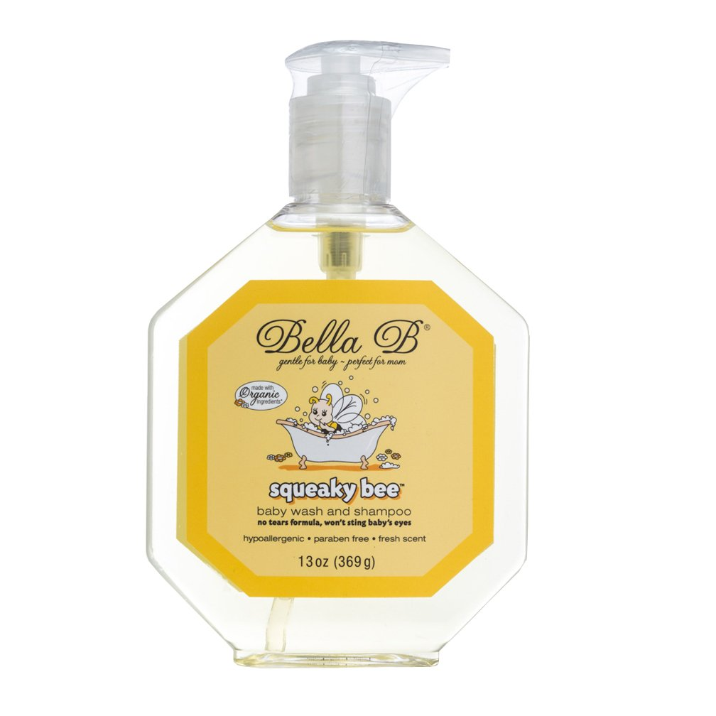 Bella B Squeaky Bee Bodywash & Shampoo - 13 oz Bottle with Pump Bella Brands Inc. LC22401