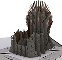 Lovepop The Iron Throne Game of Thrones Pop Up Card, 3D Card, Birthday Card, Father's Day Card, Greeting Card