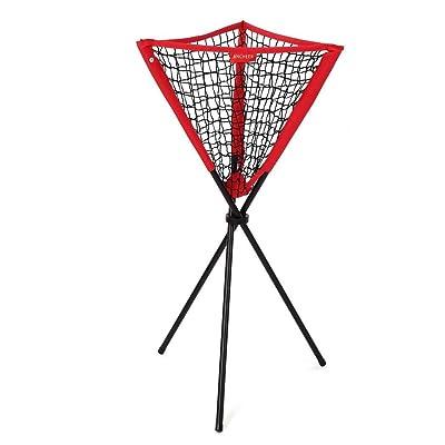 AIMADO 55 x 55 Cesta de Pelotas Tenis Béisbol Softball Netbate Práctica Bola Red ( EU Stock): Juguetes y juegos