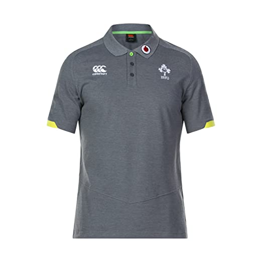 a340cece0cf Canterbury Ireland Official 17/18 Men's Rugby Vapodri Cotton Pique Polo  Shirt: Amazon.co.uk: Sports & Outdoors