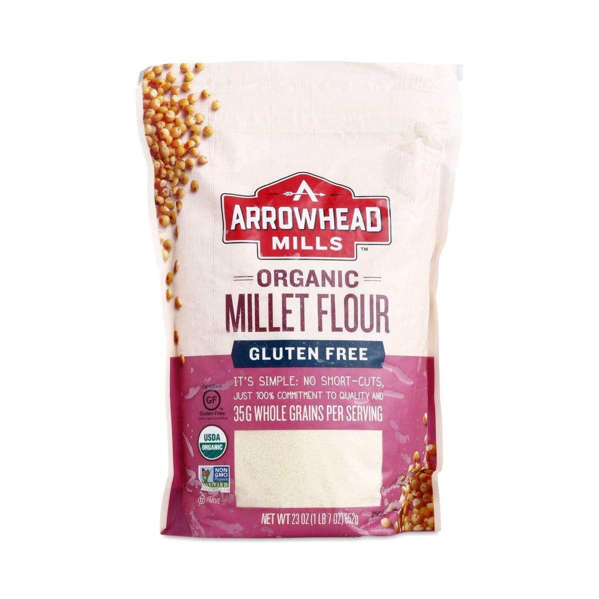 Arrowhead Mills, Flour Millet Organic, 23 Ounce by Arrowhead Mills (Image #1)