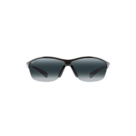 af0fe5351 Maui Jim 426-02 Black Hot Sands Wrap Sunglasses Polarised Cricket, Golf,  Cyclin