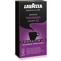 Lavazza Nespresso Compatible Vigoroso Capsules, 50g (10 capsules)