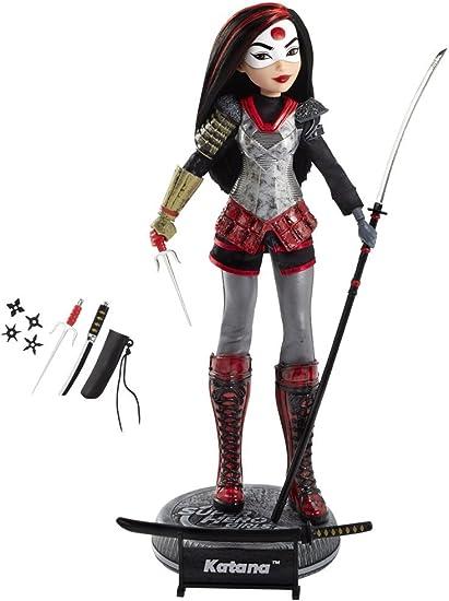 "12/"" DC Super Hero Girls Katana Action Figure Doll"