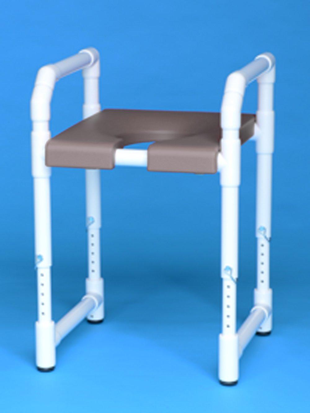 Toilet Safety Frame IPU TSF12 B/G/R (Gray) by IPU
