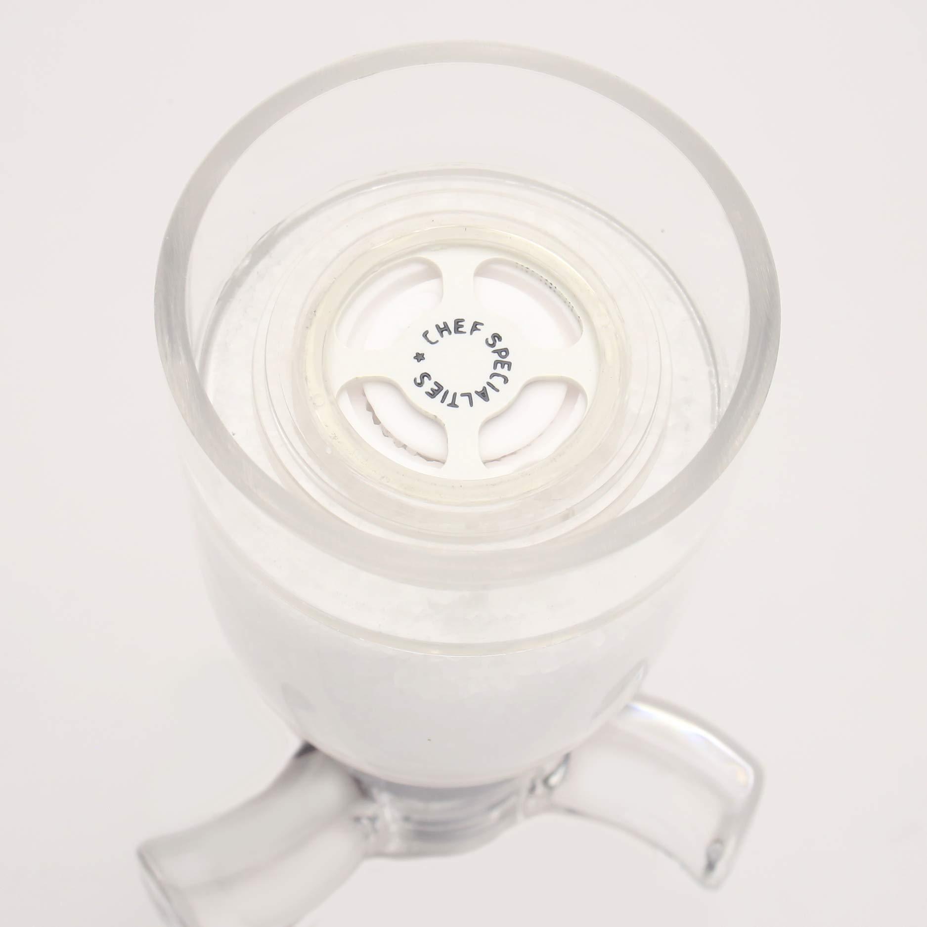 Chef Specialties 4.25 Inch Spinner Salt Mill