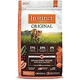 Instinct Grain Free Dry Cat Food, Original Raw Coated Natural High Protein Cat Food