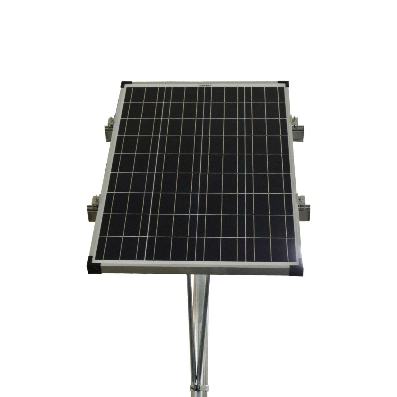 Missouri Wind and Solar Top of Pole Single 100 Watt Solar Panel Mounting Rack