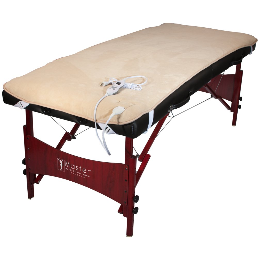 Master® Massage Plush Table Warmer, EMR Safe, UL Approved - Fits ALL Massage Tables Master Massage Tables 86260