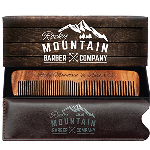 Hair Comb Anti Static Mustache Carrying