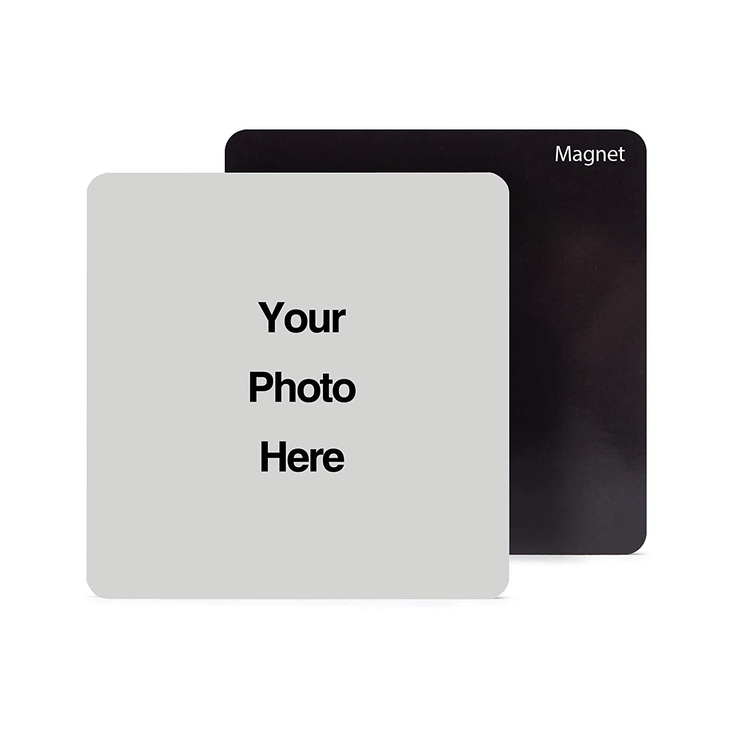 """Pearl Pix Custom Picture Magnet, Personalized Photo, 3.5"""" x 3.5"""" Picture Magnet, Great Gift for Any Occasion - Make Your Own Picture Magnet"""