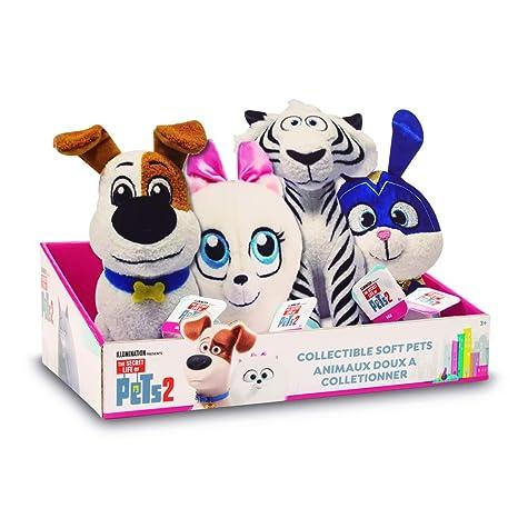 Mascotas 2 - Peluche 20 cm, 4 Modelos surtidos (Giochi ...