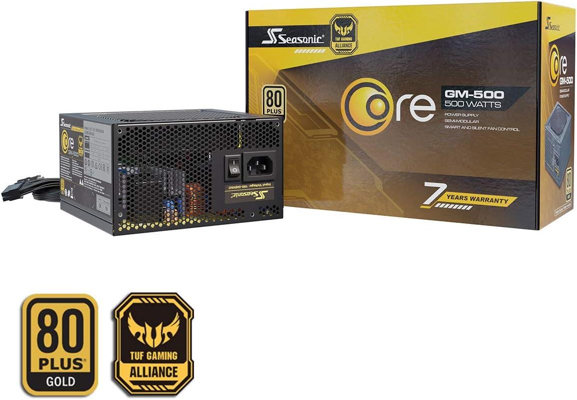 Seasonic Core Gm 500 Teilmodulares Pc Netzteil 80plus Computer Zubehör
