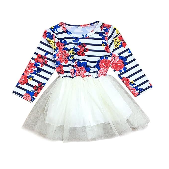 Amazon.com: goodlock niños Fashion – Vestido Bebé niña ...