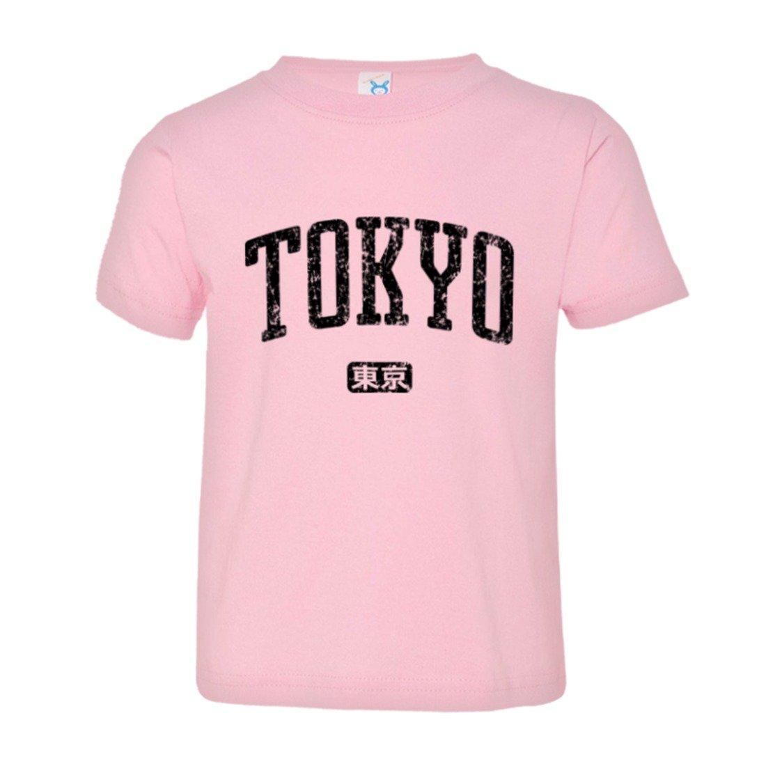 Toddler Tokyo Japan Vintage Classic Name Original HQ Tee Shirt