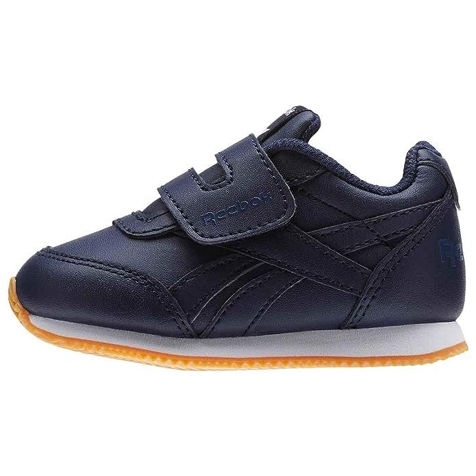 Reebok Bs8027, Sneaker Unisex �C Bimbi 0-24, Blu-Gomma (Collegiate Navy-Gum), 21 EU