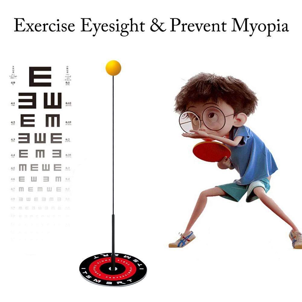 rfhan Tischtennistrainer Flexible Tischtennistrainingsger/äte f/ür Kinder im Innen und Au/ßenbereich