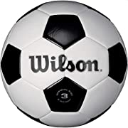 Wilson Traditional Soccer Ball - Size 3 (packaging may vary)