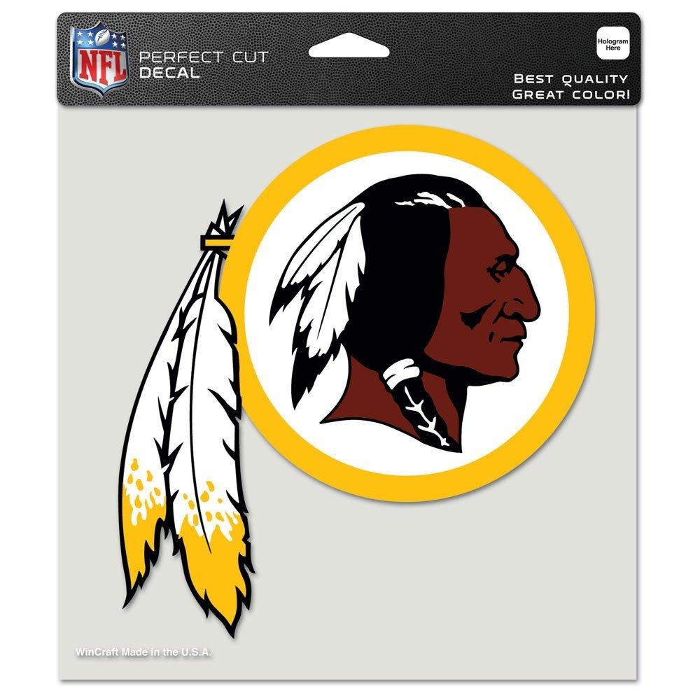 """Wincraft NFL perfekten Schnitt Farbe Aufkleber 80758010 Team Color 8""""X8"""""""