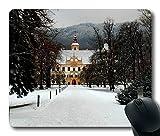 Personalized Unique Design Oblong Shaped Mouse Pad Eggenberg Castle Graz Austria