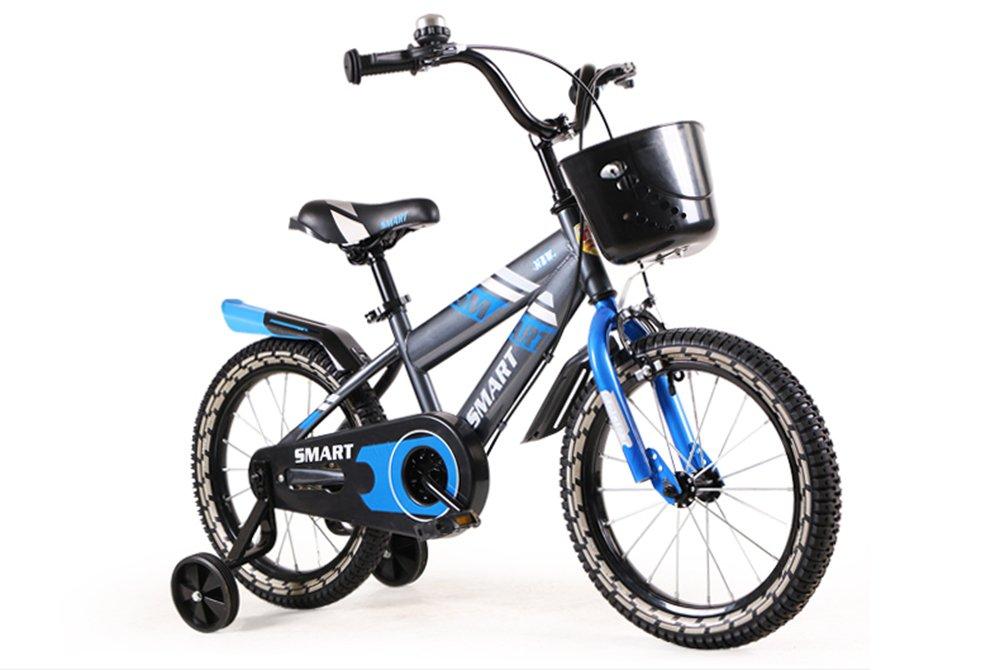 美しい 家子供用自転車、男の子用ベビーカー、女の子用自転車、子供用サイクリング (色 : 青, サイズ さいず : 100cm) B07CXKDSPS 100cm|青 青 100cm