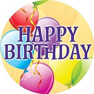 Custom Decor Accent Magnet - Happy Birthday