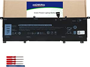 INDMIRD 8N0T7 New Laptop Battery For Dell XPS 15 9575 Series DELL Precision 5530 2-in-1 Series Notebook Replacement Original 8NOT7 0TMFYT TMFYT P73F 11.4V 75Wh 4 Cell