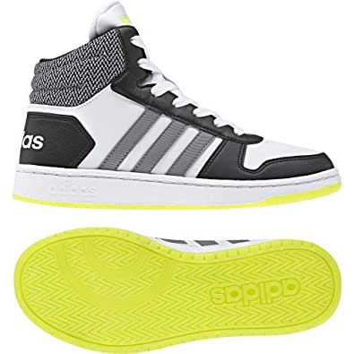newest c74bb b1fc5 Adidas Hoops Mid 2.0 K, Chaussures de Fitness Mixte Adulte, Blanc (Ftwbla GritreNegbas 000), 39 13 EU Amazon.fr Chaussures et Sacs
