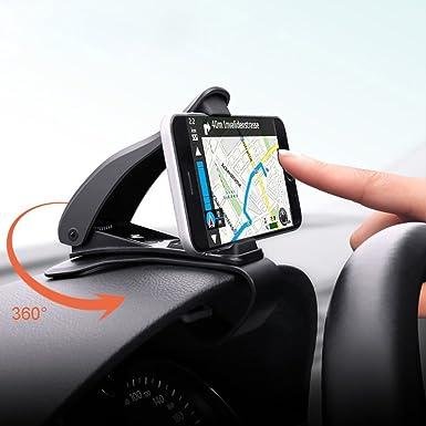 Opard salpicadero soporte GPS teléfono celular HUD coche Conducción Segura para iphone 6 7 Plus,