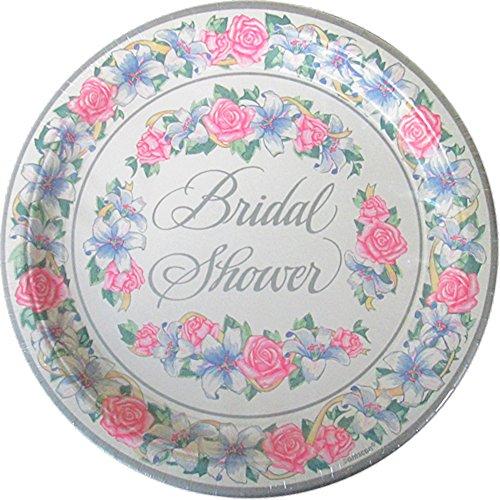 Bridal Shower 'Eternal Love' Extra Large Paper Plates ()