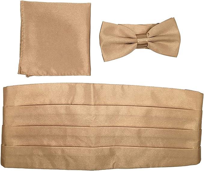 Huojingli Fashion Mens Solid Color Self-tied Formal Bowtie Bow Tie