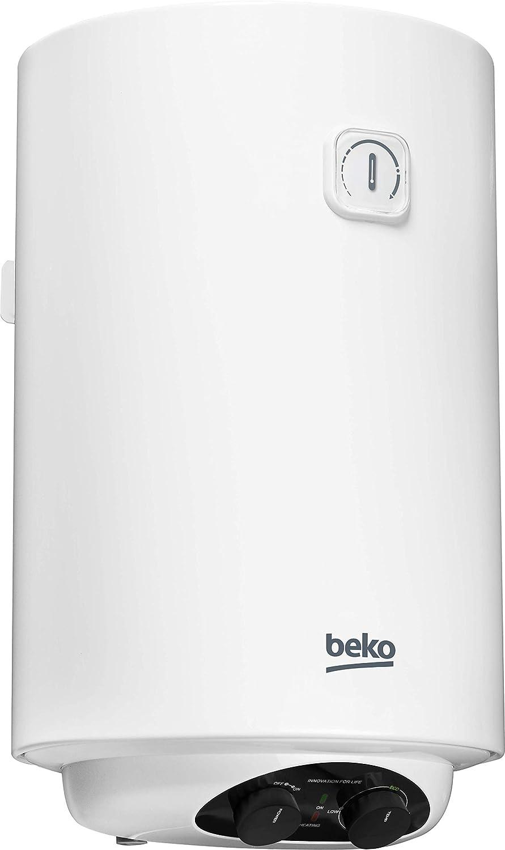 Beko BWH100EUC - Termo eléctrico / calentador, 100 litros, 2000 W ...