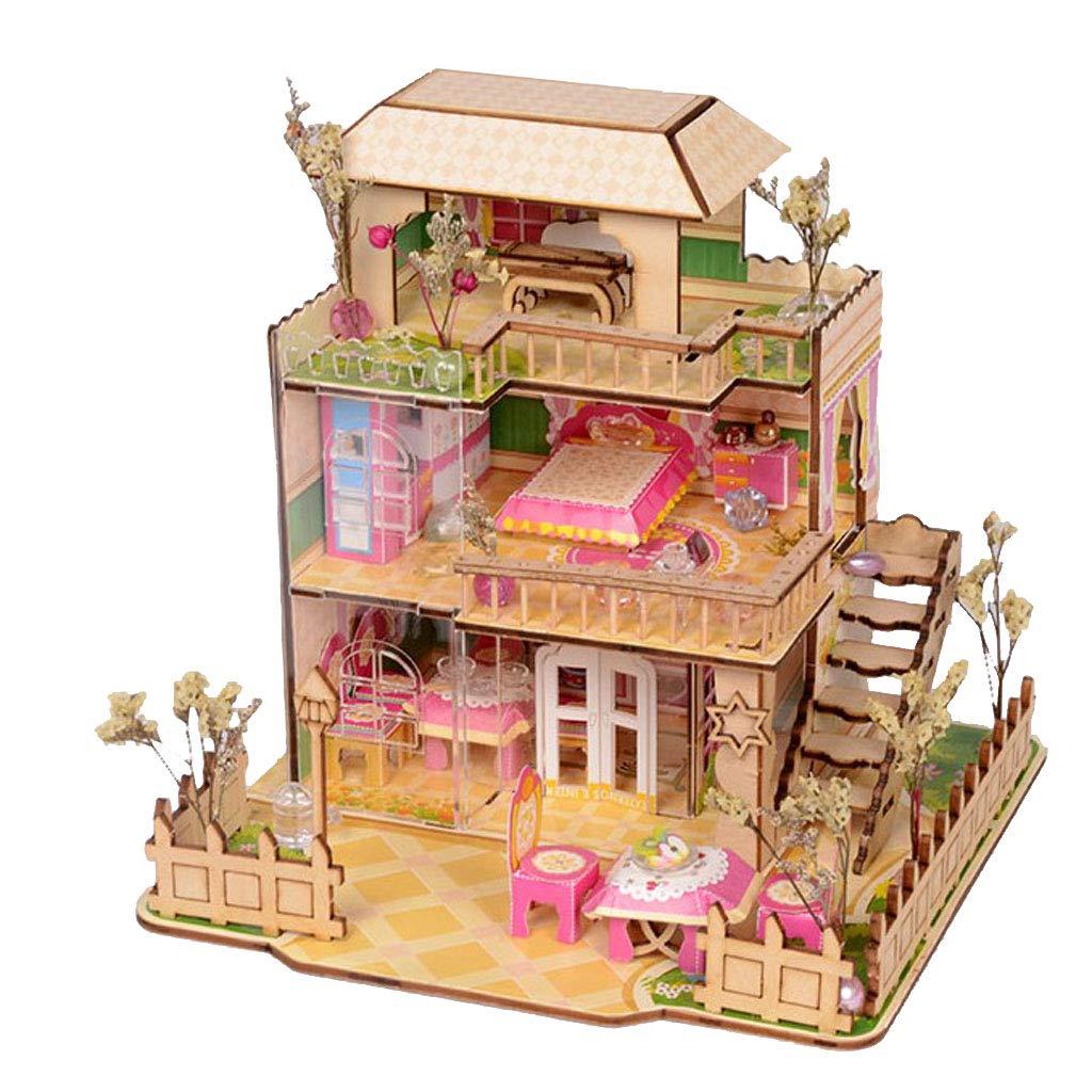 Vintage Christmas Kids  Miniature Dollhouse Picture