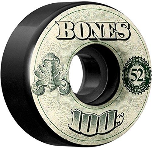 病気の債務者ピザボーンズ スケボー ウィール BONES 100's OG Formula 52mm 100A V4 ボーンズ スケートボード【C1】