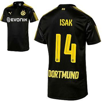 7cf844c3e06f Puma BVB Borussia Dortmund Away Shirt 2017 2018 Away With Player Name
