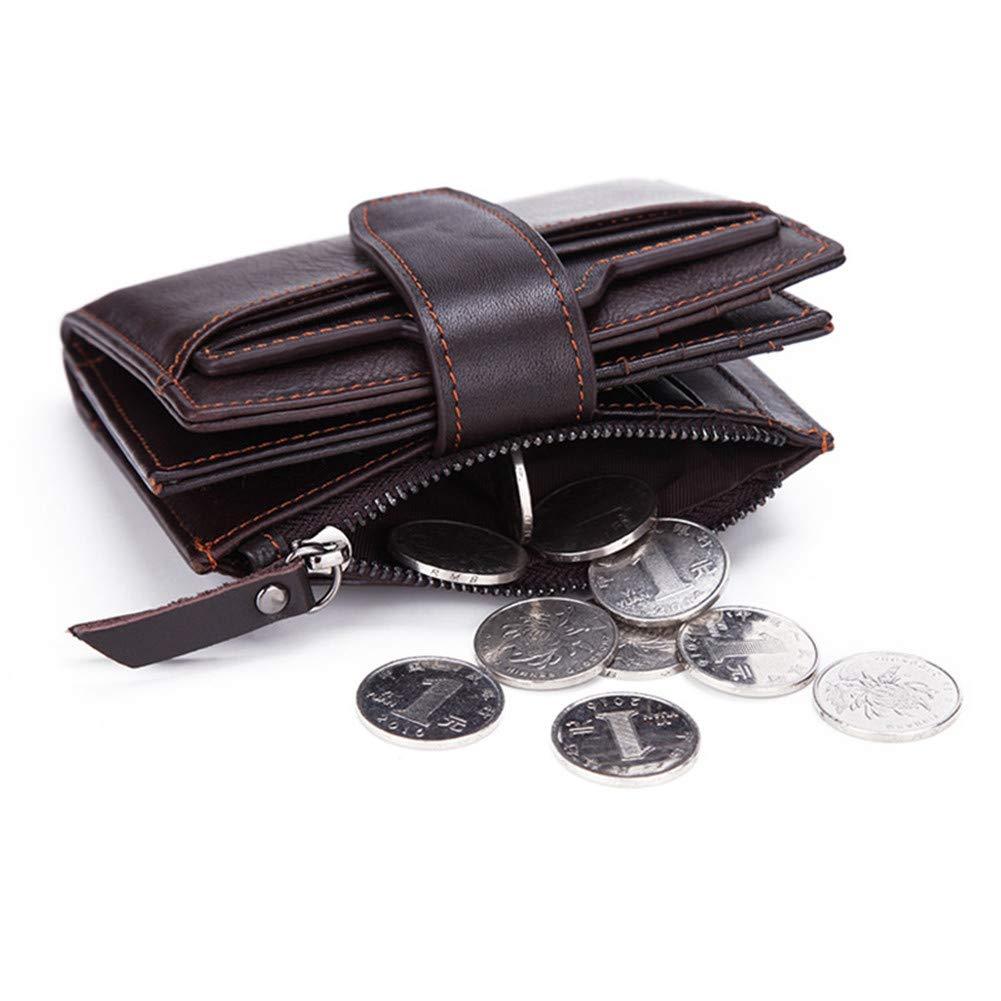 Wallet Princesa Cuero Genuino para Hombre Carteras Vintage Separable Titular De La Tarjeta Monedero De Cuero De Vaca Monedero Hombre Monedero Pequeño Bolso ...