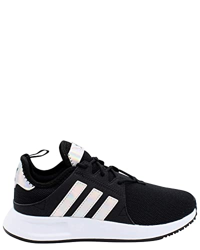 9b732fe1b82 adidas Originals Kids Girl's X_PLR C (Little Kid) Black/White 11 M US
